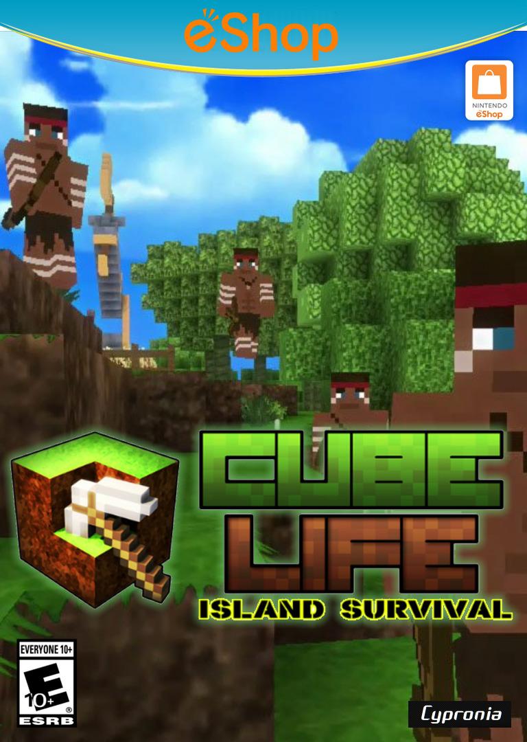 Cube Life Island Survival WiiU coverHQ2 (ACUE)