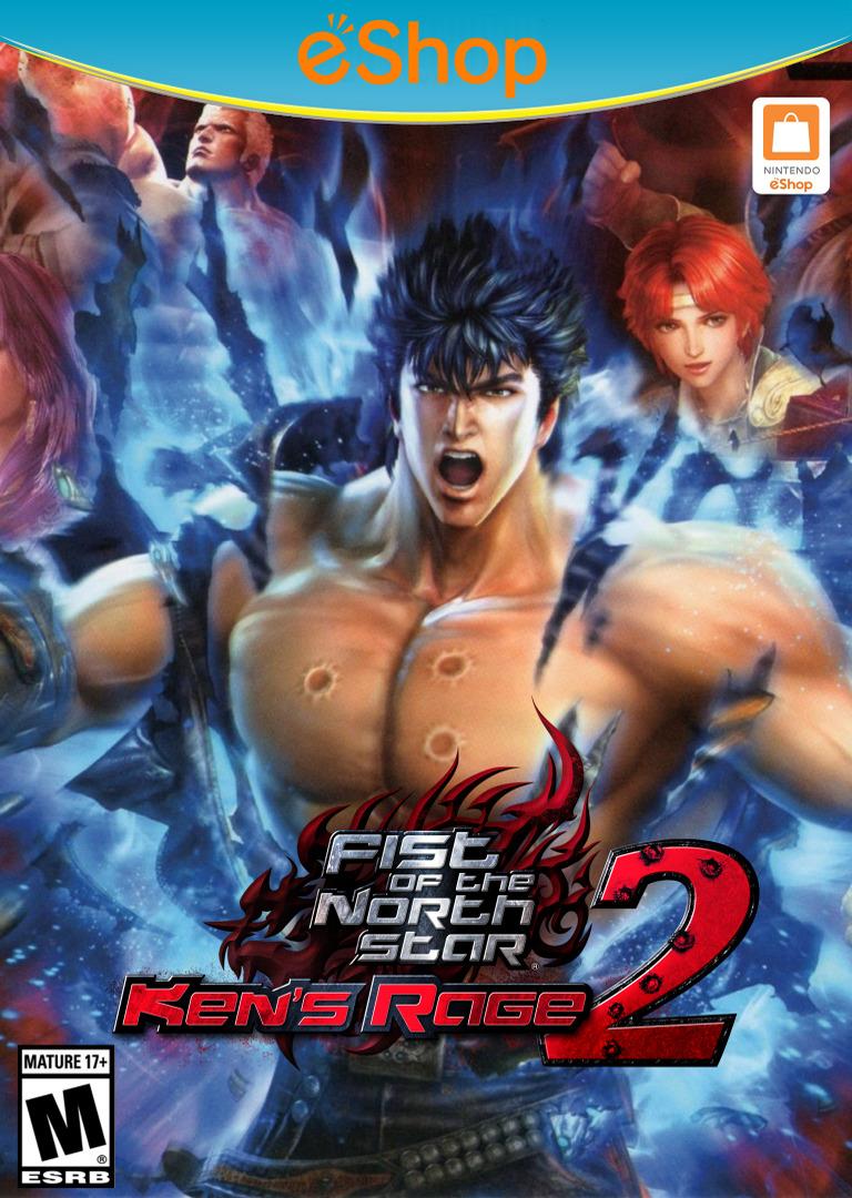 Fist of the North Star: Ken's Rage 2 WiiU coverHQ2 (AH9E)
