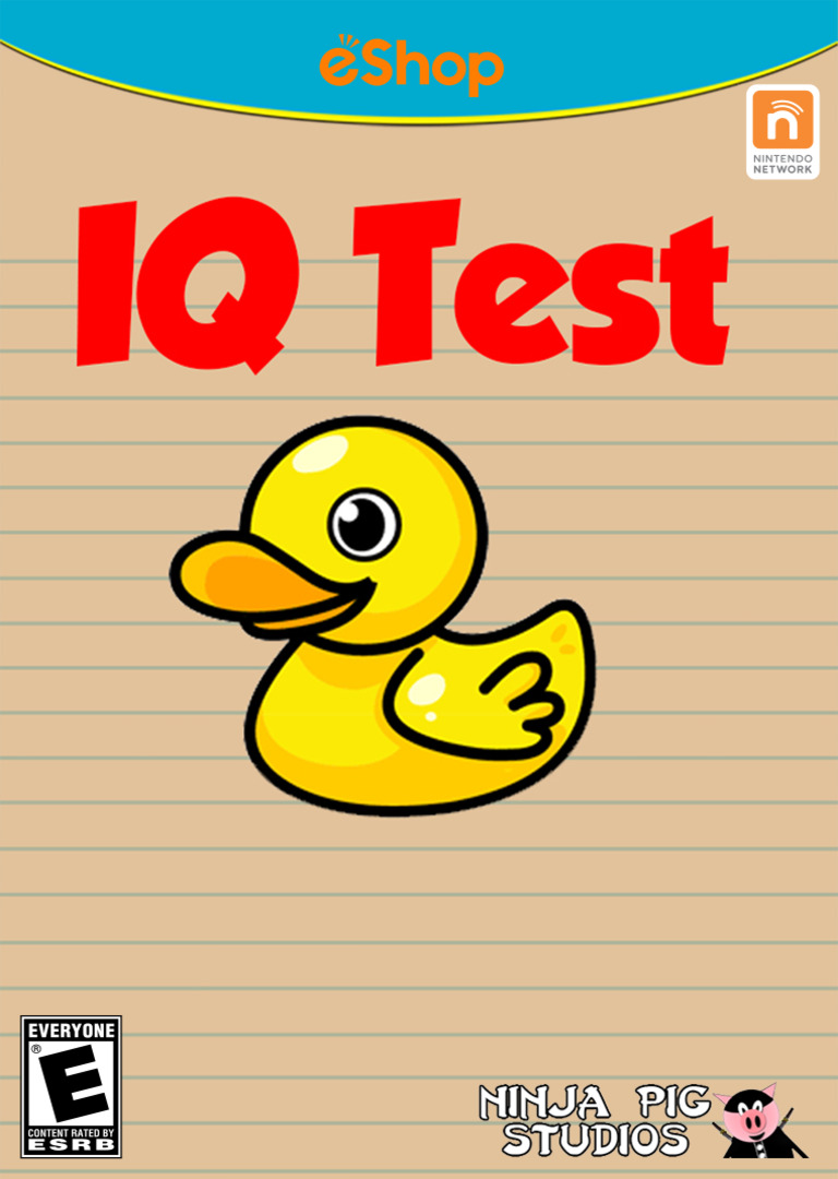 IQ Test WiiU coverHQ2 (AQTE)