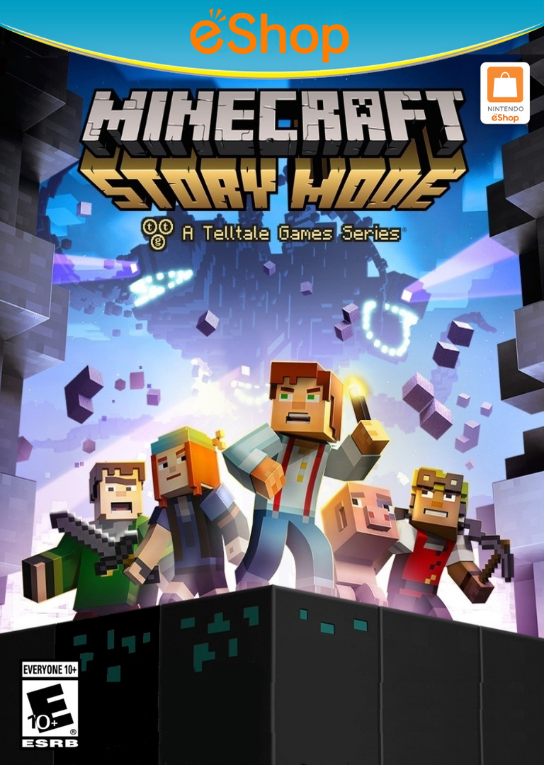 Minecraft: Story Mode - Episode 1: The Order of the Stone WiiU coverHQ2 (BMTE)