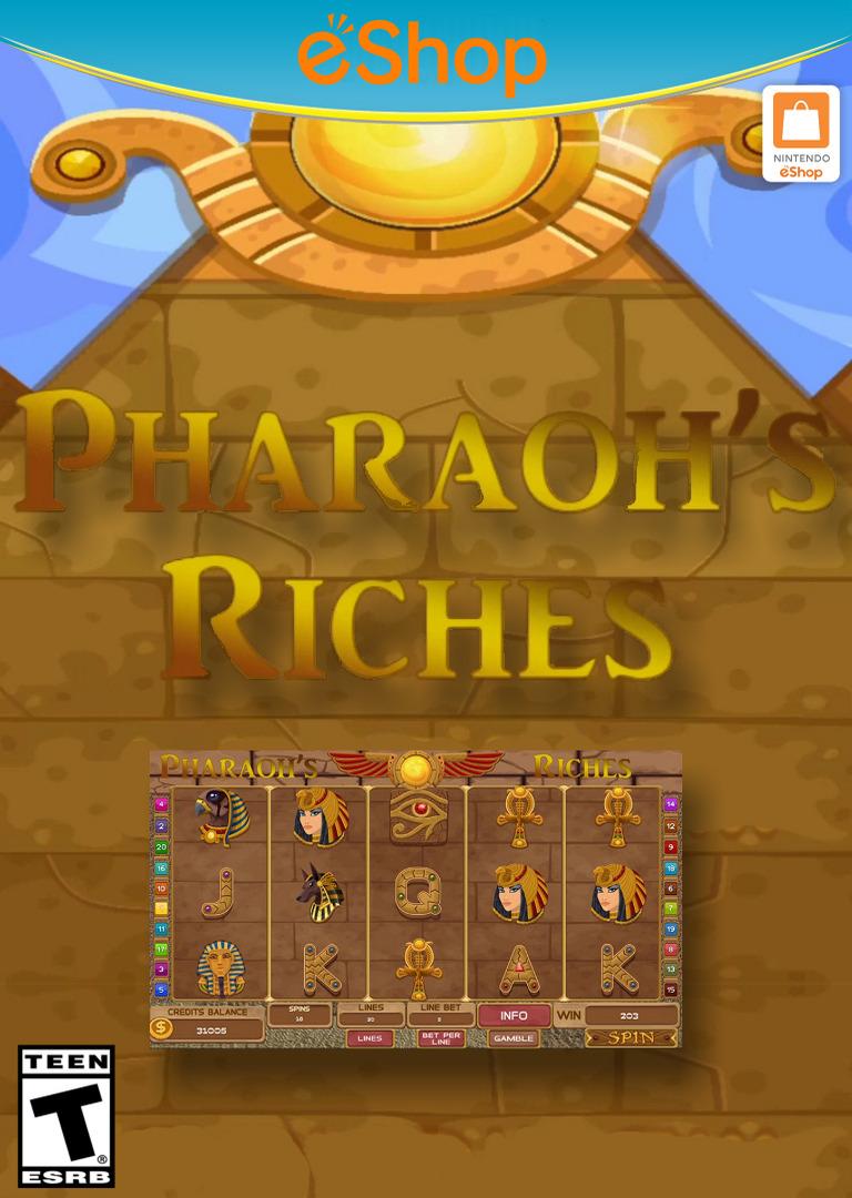 Slots - Pharaoh's Riches WiiU coverHQ2 (BP3E)