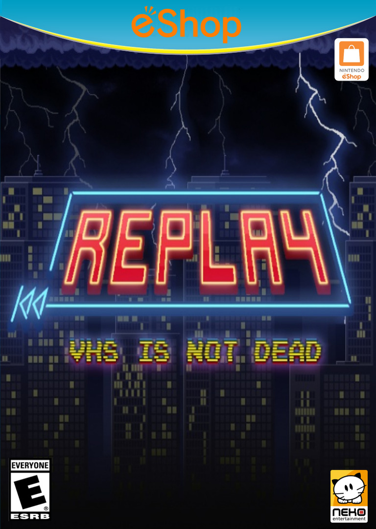 REPLAY:VHS is not dead WiiU coverHQ2 (BREE)