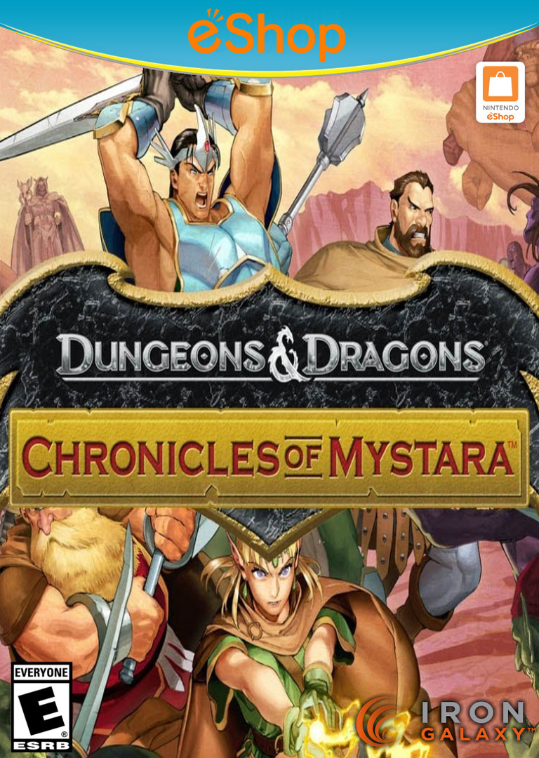Dungeons & Dragons: Chronicles of Mystara WiiU coverHQ2 (WDDE)