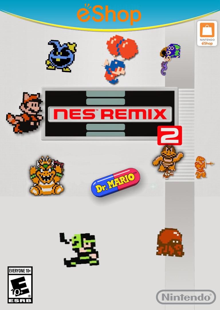 NES Remix 2 WiiU coverHQ2 (WF2E)