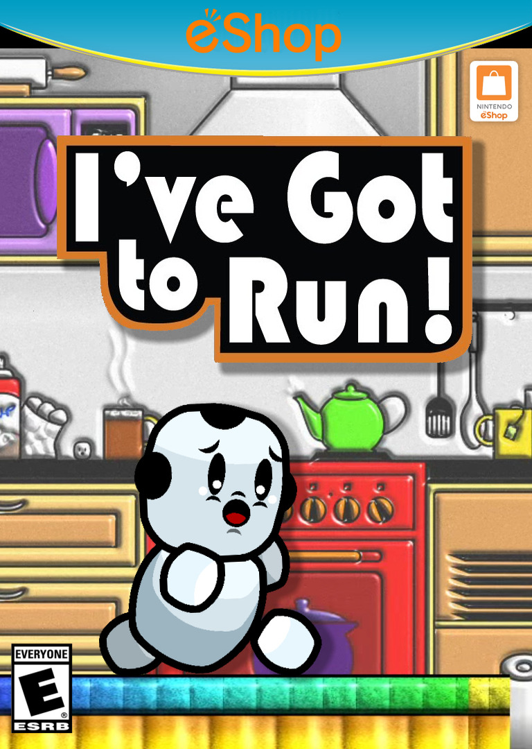 I've Got to Run! WiiU coverHQ2 (WGTE)