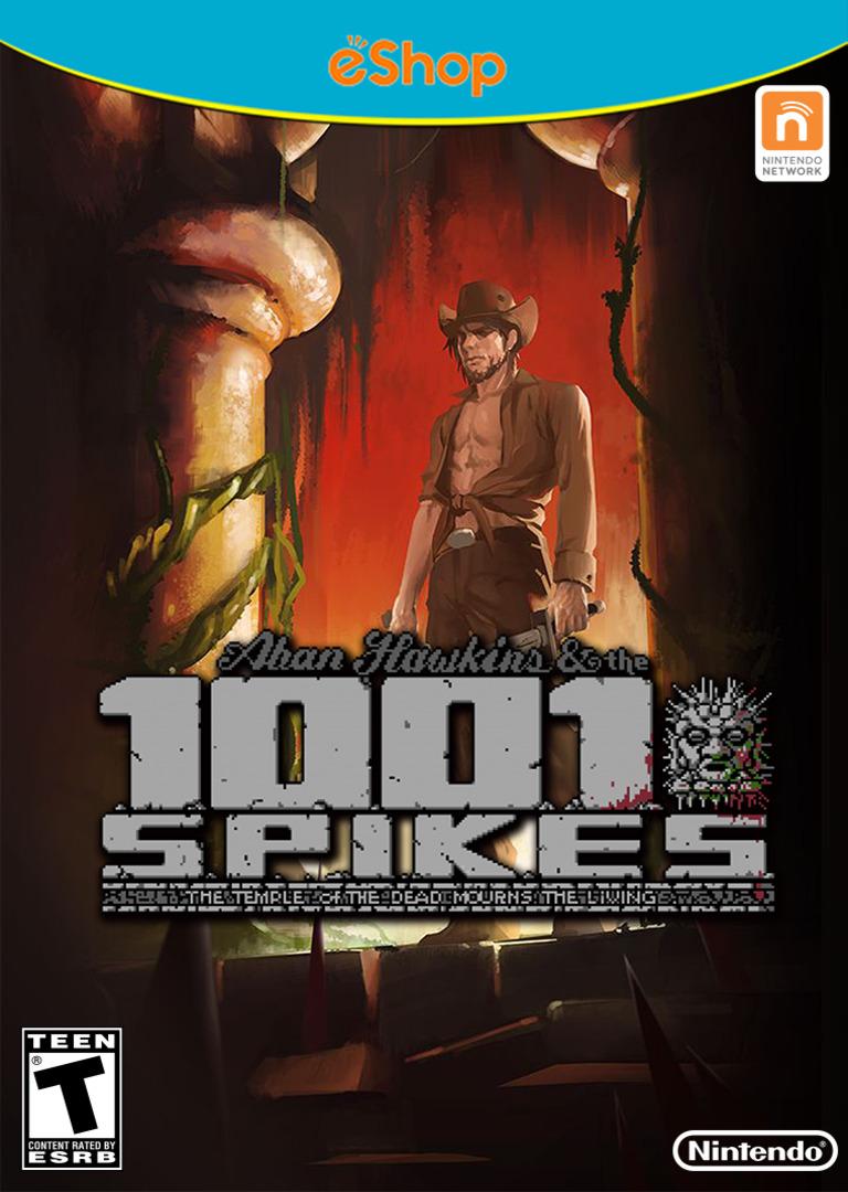 1001 Spikes WiiU coverHQ2 (WM9E)
