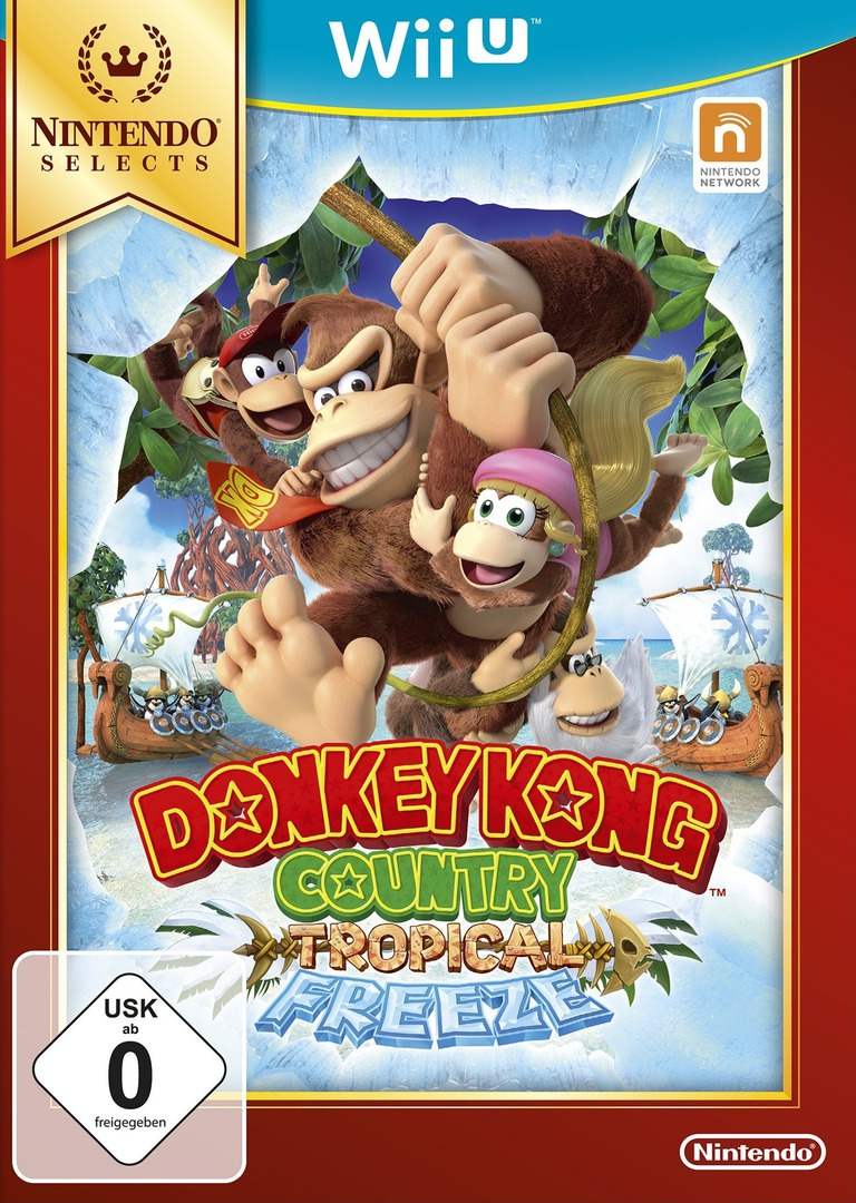 Donkey Kong Country: Tropical Freeze WiiU coverHQB (ARKP01)