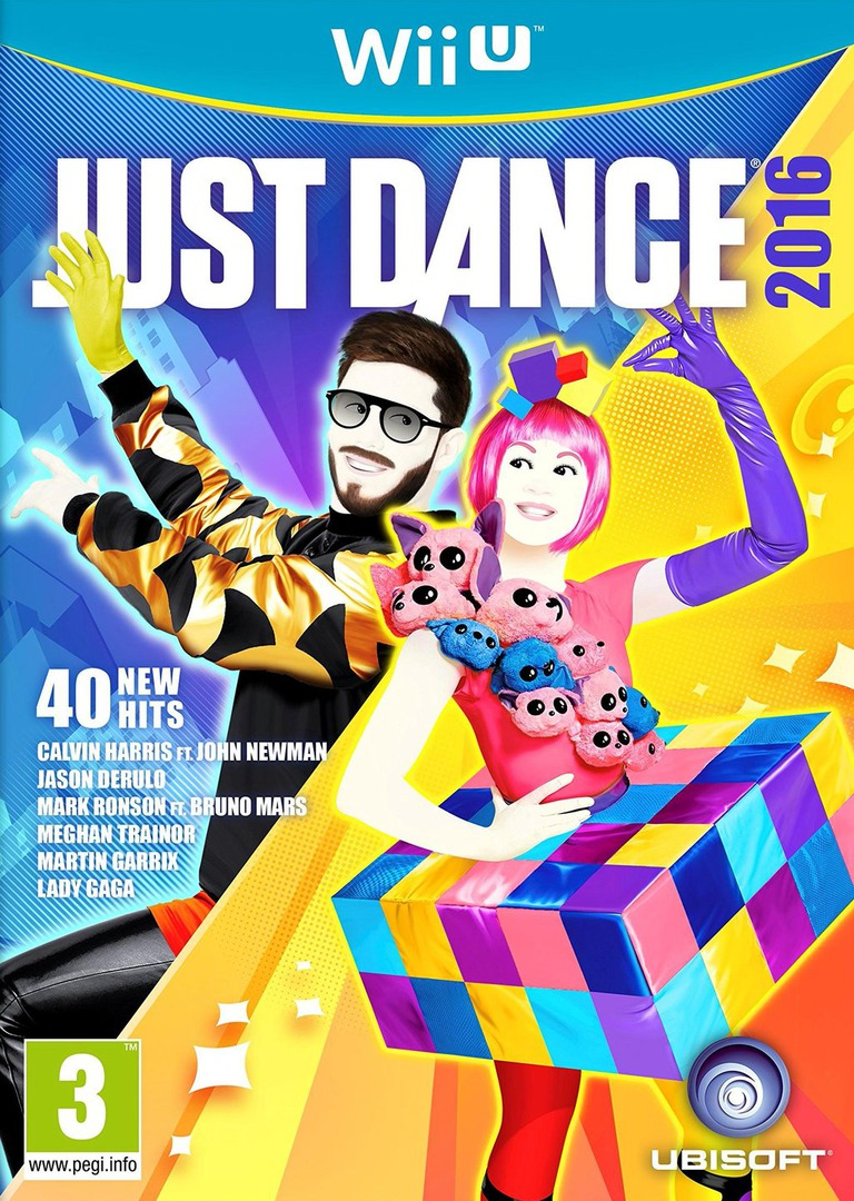 Just Dance 2016 Array coverHQB (AJ6P41)