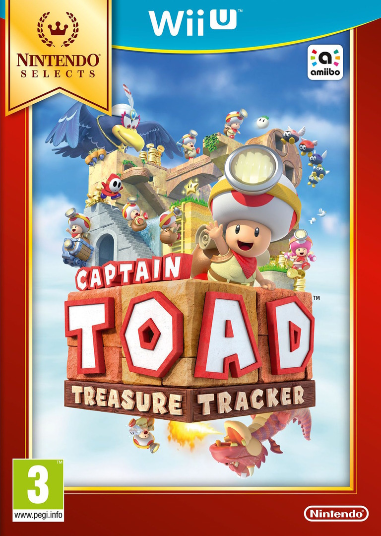 Captain Toad: Treasure Tracker WiiU coverHQB (AKBP01)