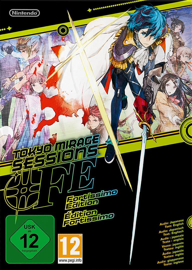 Tokyo Mirage Sessions #FE WiiU coverHQB (ASEP01)