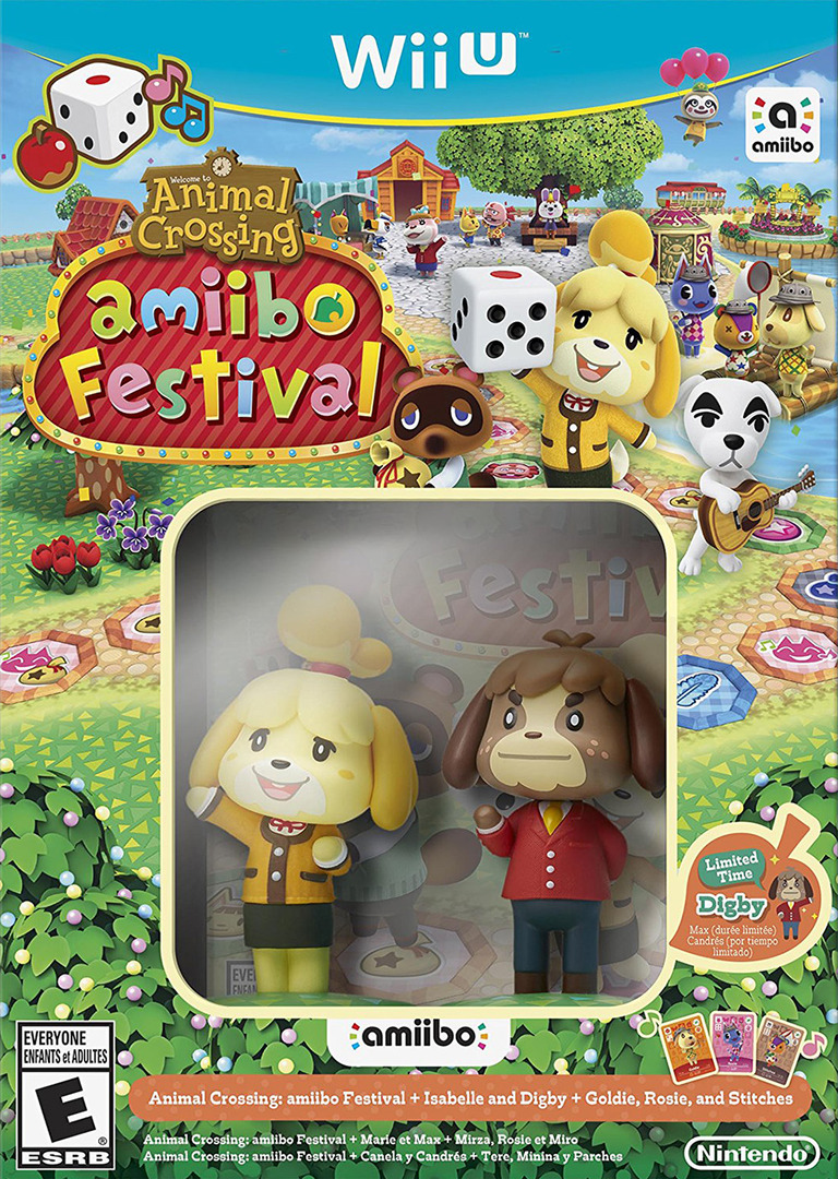 Animal Crossing: amiibo Festival WiiU coverHQB (AALE01)