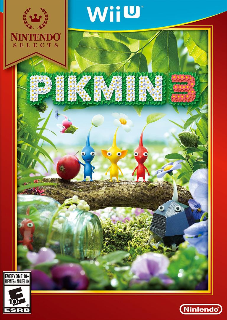 Pikmin 3 WiiU coverHQB (AC3E01)