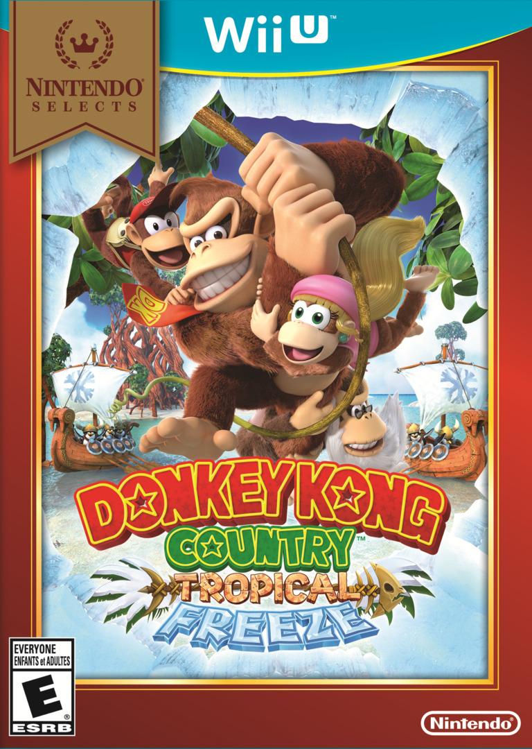 Donkey Kong Country: Tropical Freeze WiiU coverHQB (ARKE01)