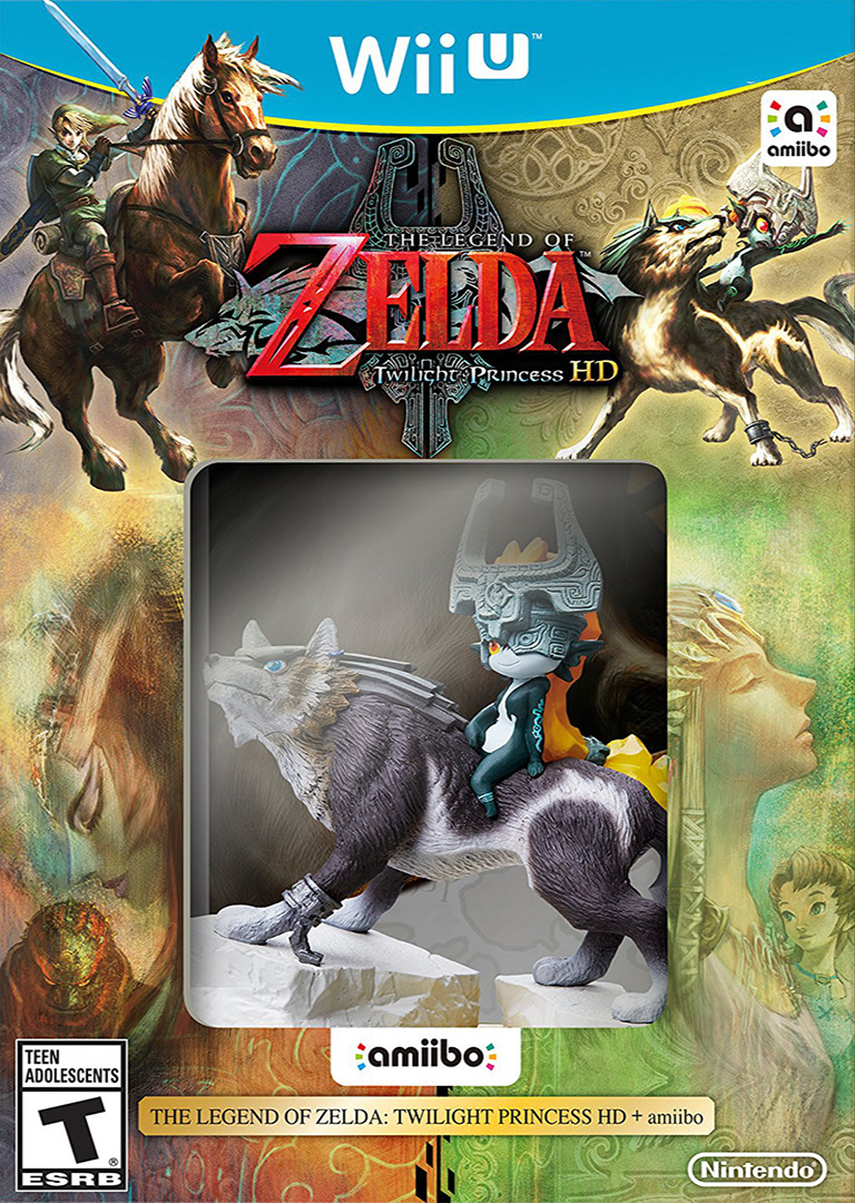 The Legend of Zelda: Twilight Princess HD WiiU coverHQB (AZAE01)