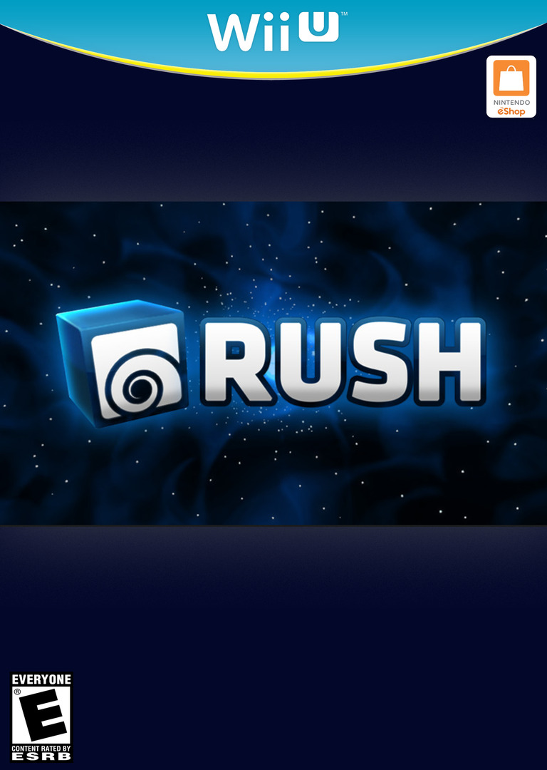 RUSH WiiU coverHQB (WCFE)