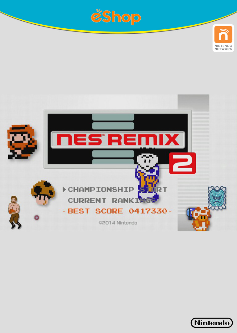 NES Remix 2 Array coverHQB (WF2E)