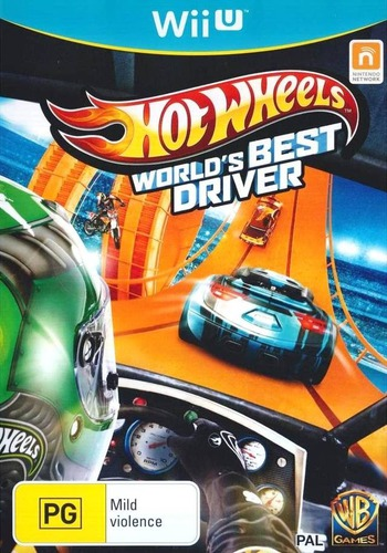 Hot Wheels: World's Best Driver WiiU coverM (AHWPWR)