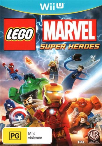 LEGO Marvel Super Heroes Array coverM (ALMPWR)