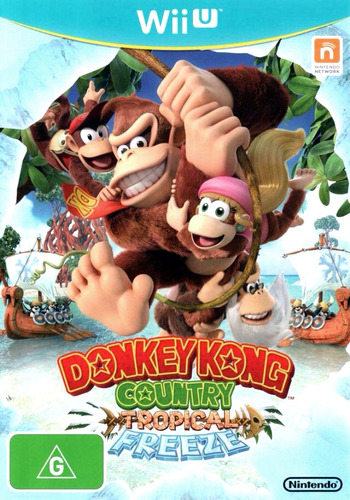Donkey Kong Country: Tropical Freeze WiiU coverM (ARKP01)