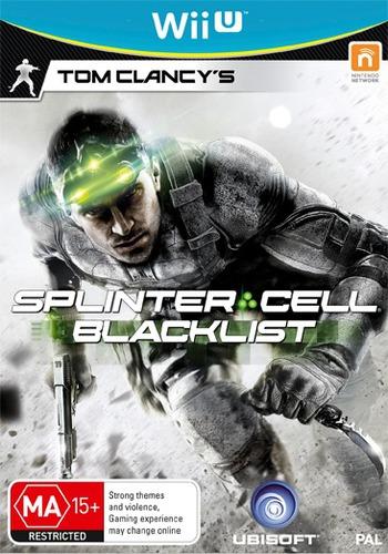 Tom Clancy's Splinter Cell Blacklist WiiU coverM (AS9P41)