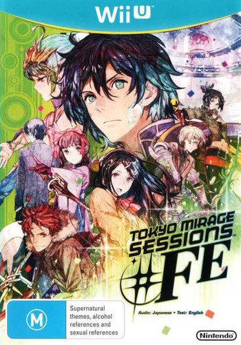 Tokyo Mirage Sessions #FE WiiU coverM (ASEP01)