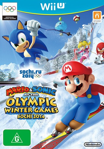 Mario & Sonic at the Sochi 2014 Olympic Winter Games WiiU coverM (AURP01)