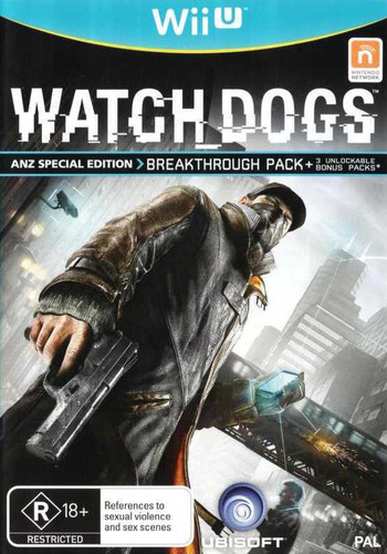 Watch Dogs Array coverM (AWCP41)