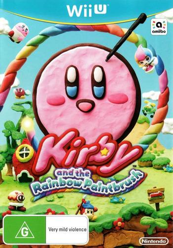 Kirby and the Rainbow Paintbrush WiiU coverM (AXYP01)