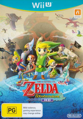The Legend of Zelda: The Wind Waker HD WiiU coverM (BCZP01)