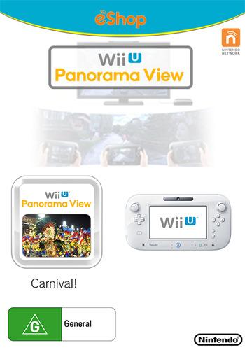 Wii U Panorama View: Carnival! WiiU coverM (WBRP)