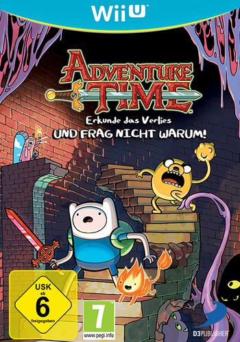 Adventure Time: Erkunde das Verlies UND FRAG NICHT WARUM! WiiU coverM (ADVPAF)