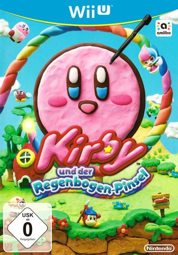 Kirby und der Regenbogen-Pinsel WiiU coverM (AXYP01)