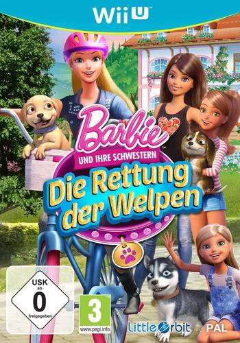 Barbie und ihre Schwestern: Die Rettung der Welpen WiiU coverM (BRQPVZ)