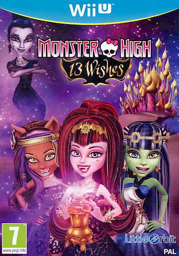 Monster High: 13 Wishes WiiU coverM (AC2PVZ)