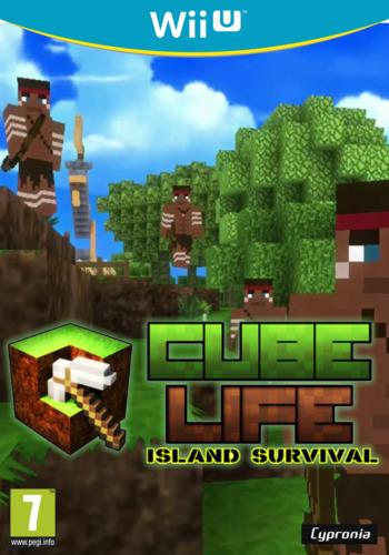 Cube Life Island Survival WiiU coverM (ACUP)