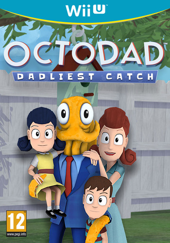 Octodad: Dadliest Catch WiiU coverM (AD5P)