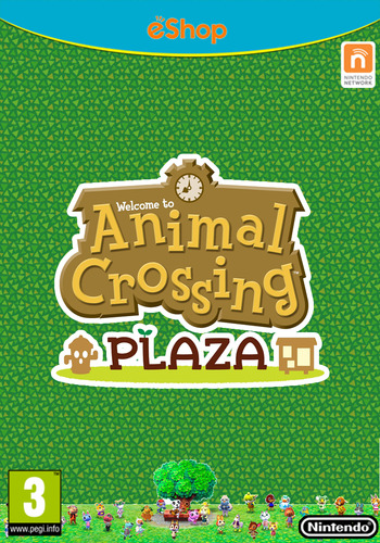 Animal Crossing Plaza WiiU coverM (ADBP)