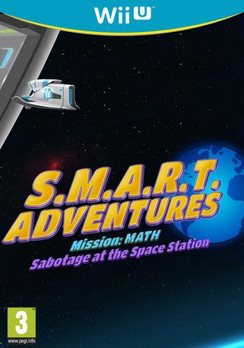 SMART Adventures Mission Math: Sabotage at the Space Station WiiU coverM (ADMP)