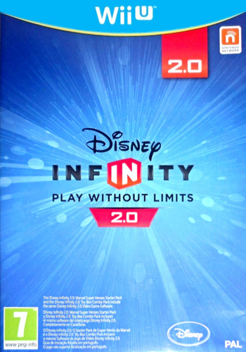 Disney Infinity: Marvel Super Heroes - 2.0 Edition WiiU coverM (ADRZ4Q)