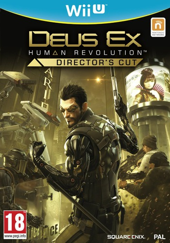 Deus Ex: Human Revolution - Director's Cut WiiU coverM (ADXPGD)