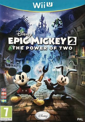 Disney Epic Mickey 2: The Power of Two WiiU coverM (AEMX4Q)