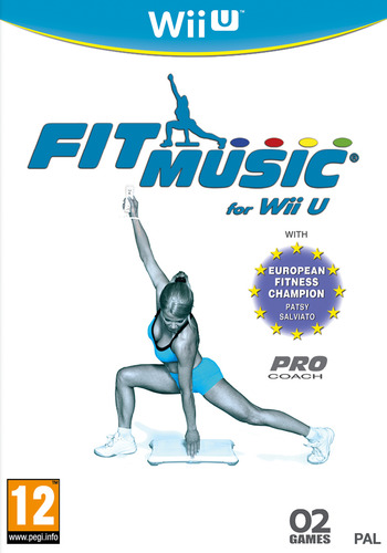 Fit Music for Wii U WiiU coverM (AFMPYF)