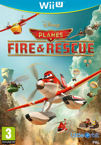 Disney Planes: Fire & Rescue WiiU coverM (AFRPVZ)