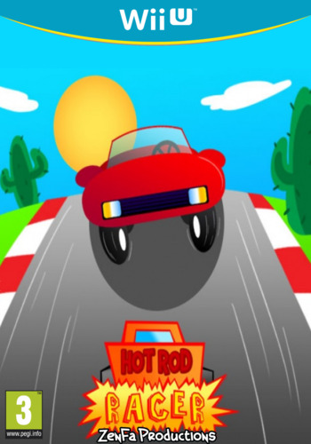 Hot Rod Racer WiiU coverM (AHZP)