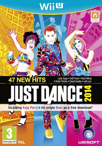 Just Dance 2014 WiiU coverM (AJ5P41)