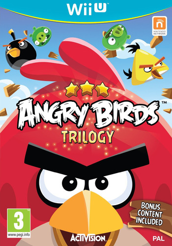 Angry Birds Trilogy WiiU coverM (ANRP52)