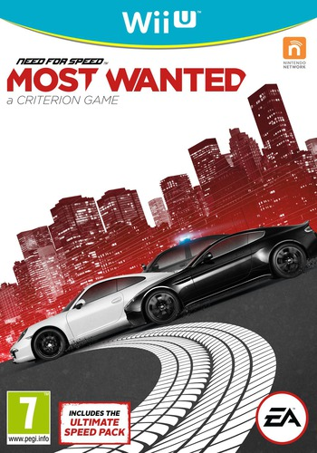 Need for Speed: Most Wanted U WiiU coverM (ANSP69)