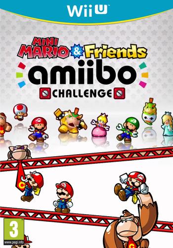 Mini Mario & Friends: amiibo Challenge WiiU coverM (AP5P)