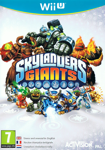Skylanders: Giants WiiU coverM (ASLP52)