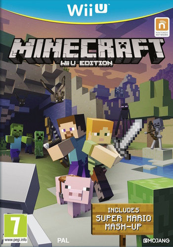 Minecraft: Wii U Edition WiiU coverM (AUMPDU)